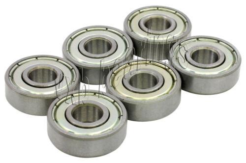 "6 Bearing R12 ZZ Ball Bearings 3//4/"" x 1 5//8/"" R12ZZ"