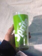 Vintage Sprite Drinking Glass 12 Oz  Old Logo 60's   (1)