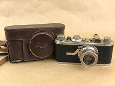 Leica I Model A # 42497 w/ 50mm F/3.5 Elmar Vintage 1930 Camera - Rare