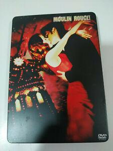 MOULIN-ROUGE-2-X-DVD-STEELBOOK-NICOLE-KIDMAN-EWAN-MCGREGOR-Espanol-Ingles