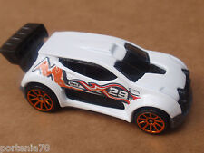 2014 Hot Wheels FAST 4WD 110/250 Road Rally LOOSE White