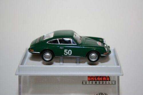 """Neu Brekina 16220-1//87 Porsche 911 /""""Rallye Monte Carlo/"""" 1966  Td"""