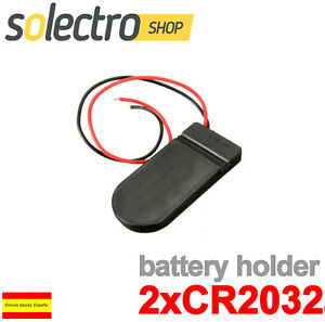 Portapilas-2x-CR2032-Interruptor-BATER-A-PILA-BOTON-ARDUINO-BATTERY-HOLDER-PP23