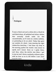 Amazon Kindle Paperwhite 2, 6th Gen, Wi-Fi E-Reader, High-Res, Built-in Light