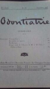 Rivista-Mensile-Odontiatrie-N-51-5-Eme-Anni-1928-ABE