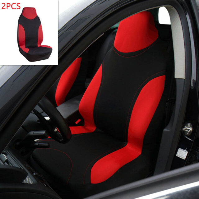 Sports Carbon Fibre Mesh Design Universal Pic Auto High Back Car Seat Covers