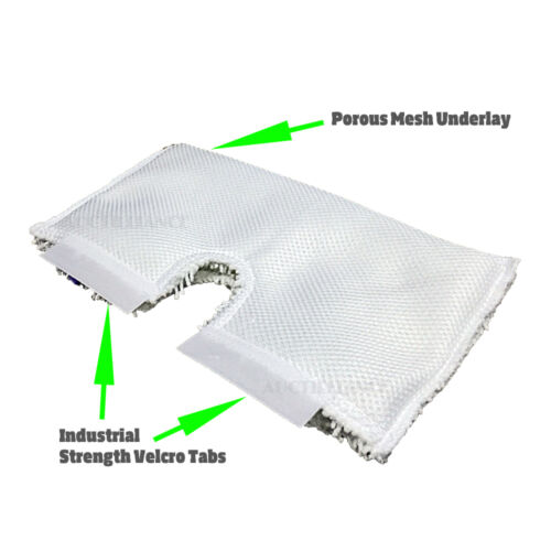Clean Co Replacement Pads for Shark Steam Pocket Mop Pad S3501 S3601 S3901 x6