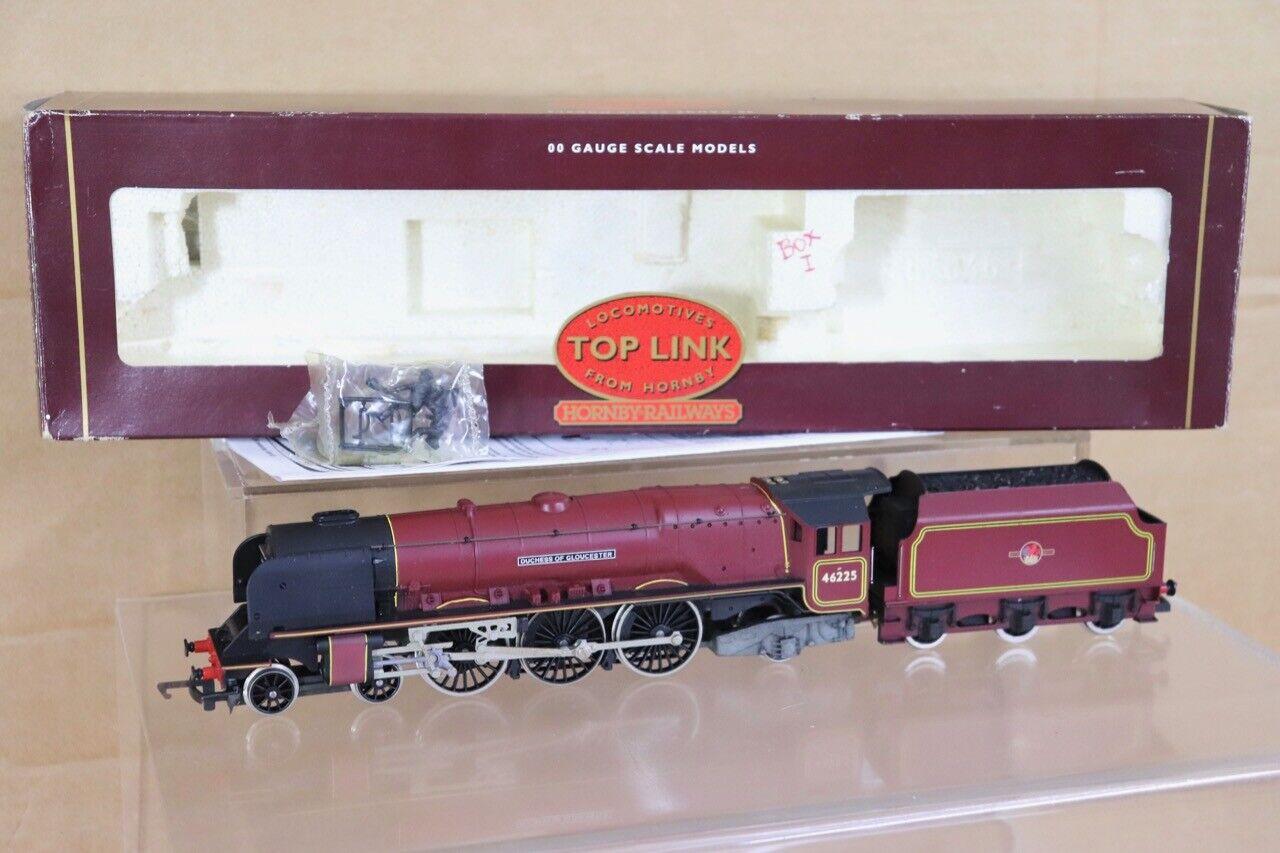 Hornby R2023 Br 4-6-2 Duchess Class Loco 46225 Duchess Of Gloucester en Caja NT