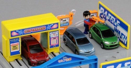 Tomica Town car wash japan import