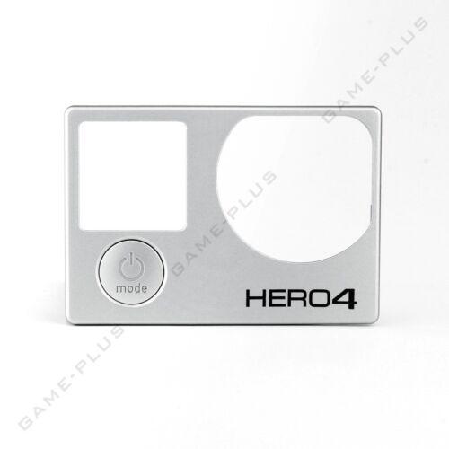 Nueva placa frontal de piezas de repuesto cubierta frontal Marco Para Gopro Hero 4 Cámaras