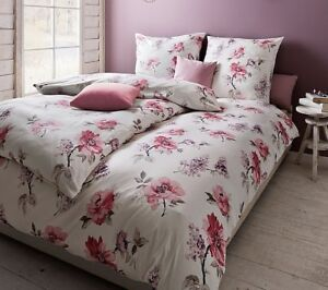 estella bettw sche aneta pink 135x200 155x220 interlock jersey baumwolle b gelfr ebay. Black Bedroom Furniture Sets. Home Design Ideas