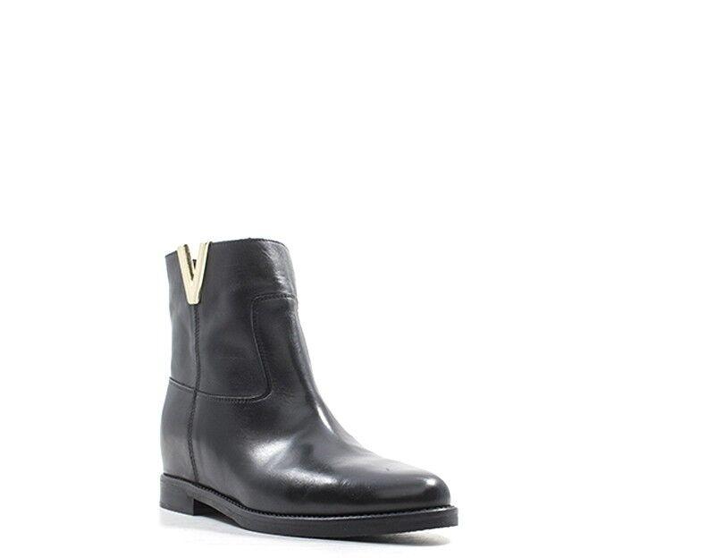shoes REBECCA VAN DIK DIK DIK Femme black Cuir naturel T23-VIT 1ef864