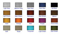 5 Gallon Colored Satin Concrete Sealer X-5 Stamped Decorative Concrete 20 Colors