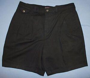 Shorts & Bermudas UnermüDlich Roundtree & Yorke Marineblau Shorts Größe 36 Gefaltete Vorderseite Nachfrage üBer Dem Angebot Kleidung & Accessoires