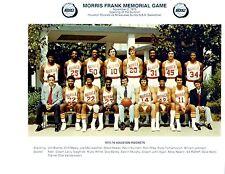 1975 1976 HOUSTON ROCKETS 8X10 TEAM PHOTO  VINTAGE BASKETBALL TEXAS NBA USA HOF