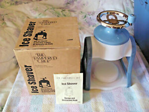 PAMPERED-CHEF-ICE-SHAVER-W-RECIPE-AND-INSTRUCTION-BOOK-2940