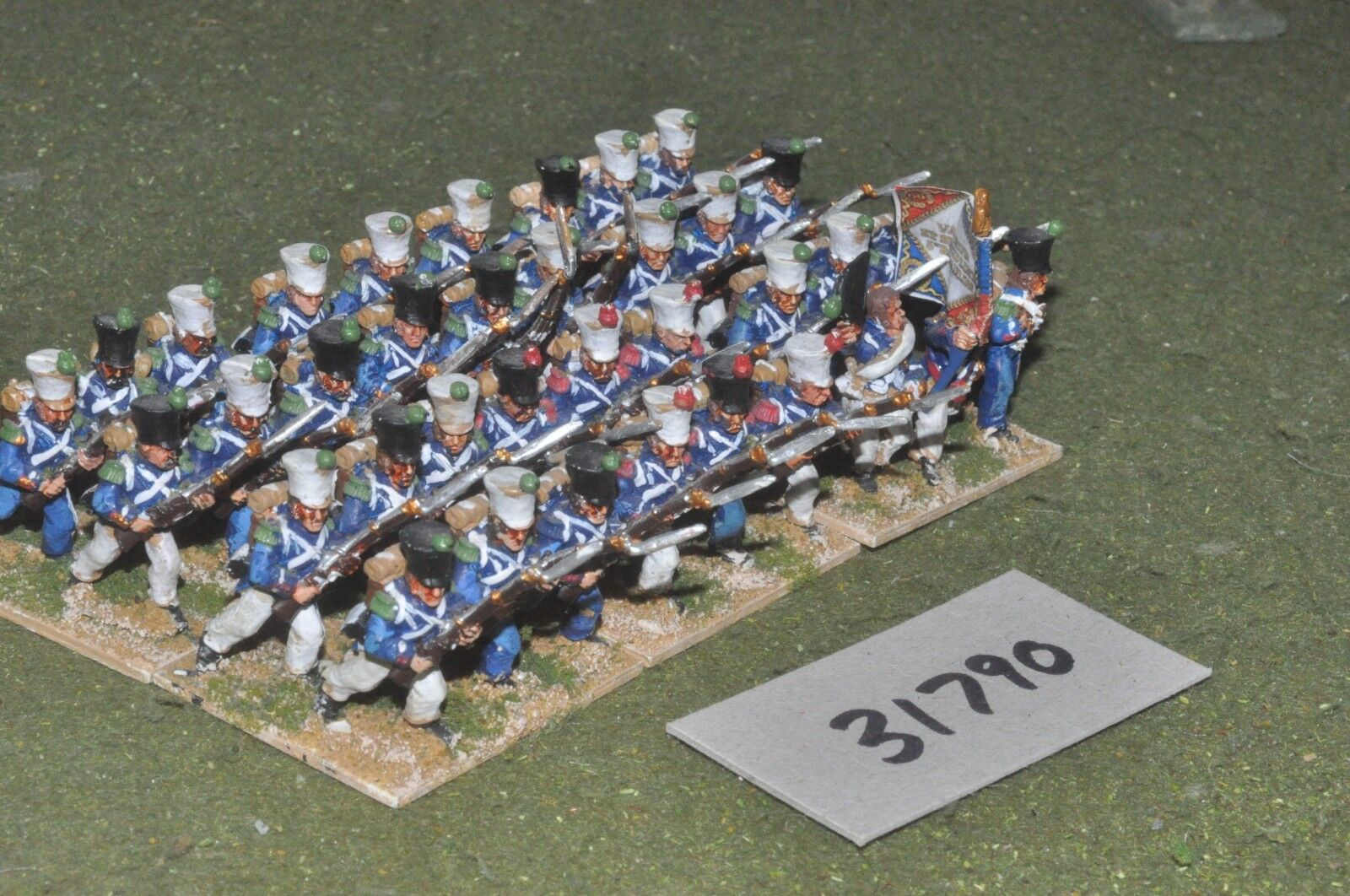 25mm napoleonic   french - guard 36 figures - inf (31790)