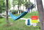 outdoor camping Single canvas hammock thickened