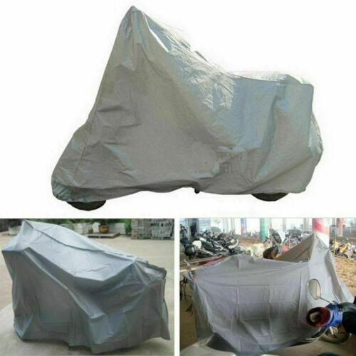 Dust Bike Bicycle Scooter Cover Waterproof Outdoor Rain UV Protector Silver