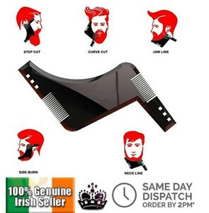 New-Double-side-Comb-Beard-Shaping-Tool-Man-Beard-Trimmer-Template-Hair-Cut