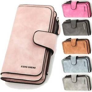 Women-Ladies-Large-Wallet-Clutch-Long-Purse-Leather-Handbag-Bag-Coin-Card-Holder