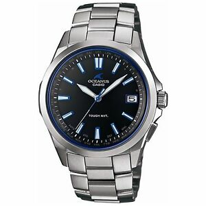 Casio OCEANUS OCW-S100-1AJF Titanium Tough Solar Radio Multiband 6 Men's Watch