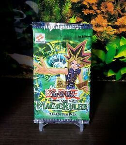 Yu-Gi-Oh-English-1ST-EDITION-Magic-Ruler-Booster-Pack-MRL-FACTORY-SEALED