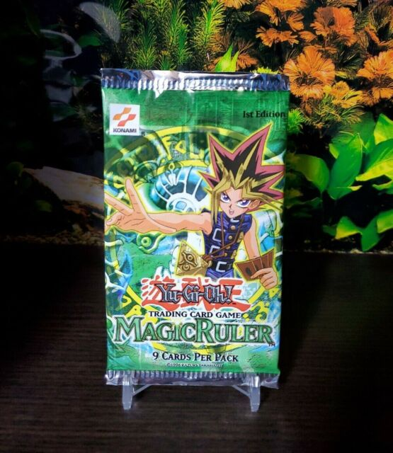 Yu-Gi-Oh! English 1ST EDITION Magic Ruler Booster Pack MRL - FACTORY SEALED