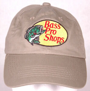 4eb568fb31d BASS PRO SHOPS Hat-Youth-Snapback-Tan-Embroidered Logo-Fish Hunt ...