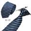 Classic-Red-Black-Blue-Mens-Tie-Paisley-Stripe-Silk-Necktie-Set-Wedding-Jacquard thumbnail 37
