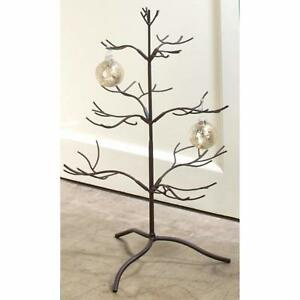 Christmas Metal Ornament Display Tree Stand 3 Tier
