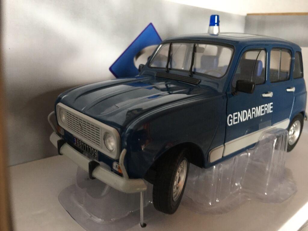 Renault 4l turbo gendarmerie 1 18 solido NOUVEAU & OVP