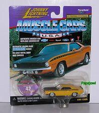 Johnny Lightning 1970 Plymouth AAR Cuda 70 Hemi Mopar Limited Muscle 1:64 (U)