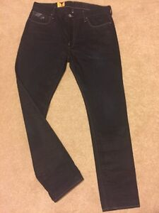 GSTAR RAW Jeans Blades Tapered Lexicon Denim Jeans BNWT W31 L34 Rrp £ 110 * VENTE *