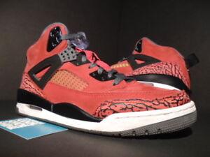 quality design 41f8c 4bfee Image is loading Nike-Air-Jordan-SPIZIKE-TORO-BRAVO-FIRE-RED-