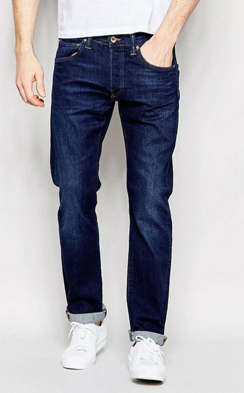 JEANS EDWIN MAN ED 55 RELAXED TAPERED (bluee dark trip) W30 L34 VAL