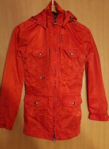 Details zu Wellensteyn Sunrise Jacke Größe XS in Rot Neuwertig