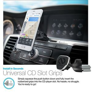 Details about Naztech MagBuddy Universal Magnetic CD Slot Phone Mount,  Hands-free calls & GPS