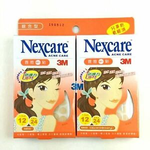3M-Nexcare-Acne-Dressing-Pimple-Care-Patch-Stickers-36pcs-x-2-packs-EDS