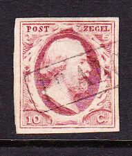NVPH 2 Koning Willem 3 LuXe gerand Gebruikt Cataloguswaarde 35,00 E-0664