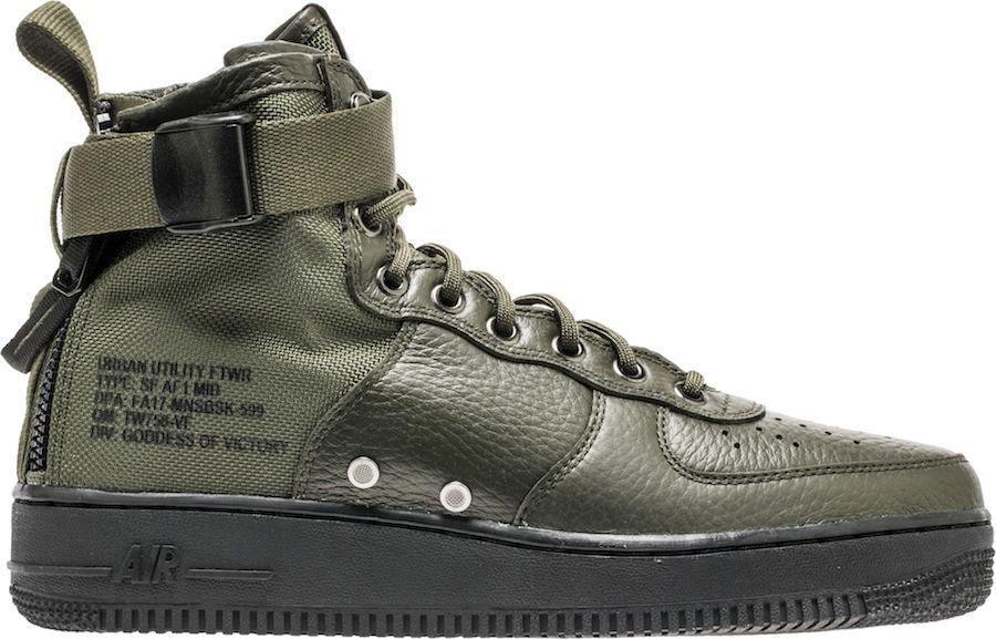 Nike SF AF1 Mid Sequoia Olive Ship Now Men Price reduction
