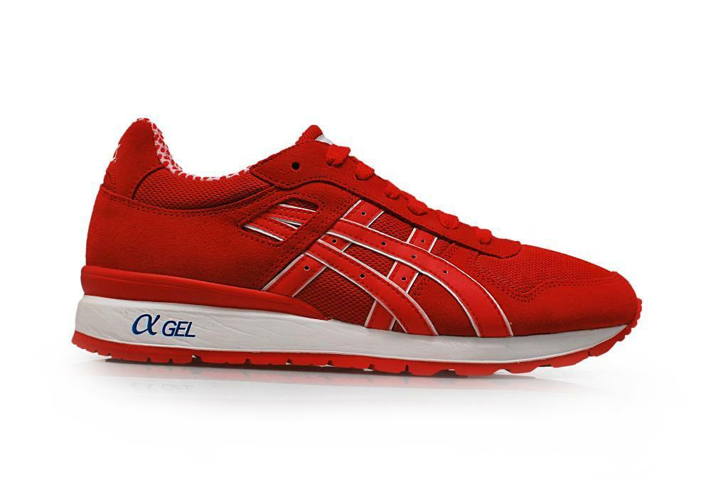 Mens Asics GT-II GT 2 - H40PK2323 - Red Red Trainers