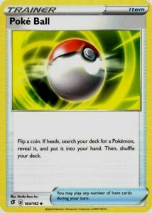 Pokemon-Card-Lot-Trainer-4x-Poke-Ball-164-192-Mint-NM