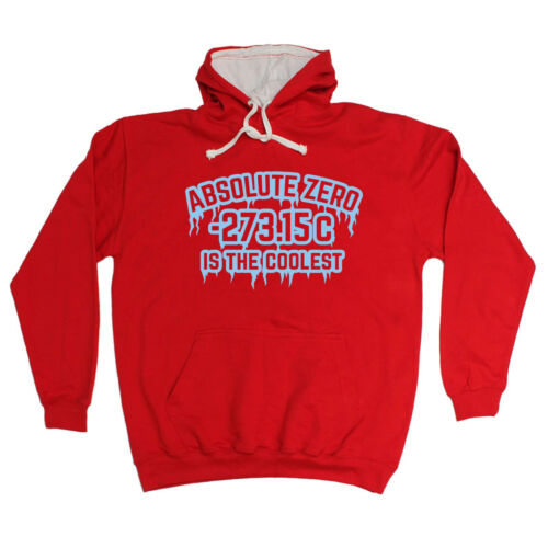 ABSOLUTE ZERO IS THE COOLEST HOODIE hoody nerd geek funny birthday gift 123t hot sale
