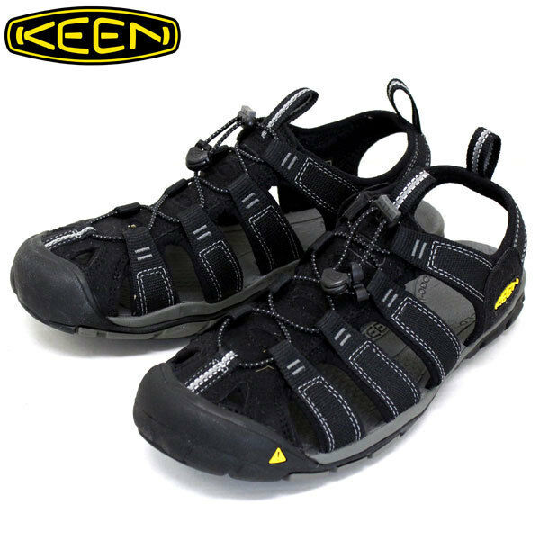 Keen Clearwater CDX para Hombre Reino Unido 10 Negro Sandalias Deportiva Impermeable Contour Arco
