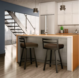 New 26 Inch High Counter Swivel Metal Breakfast Bar Kitchen Stool