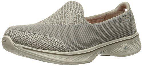 New! Women's Skechers Go Walk 4 Super Sock 4 Casual Walk Shoe 14161 BKW ssc 0Q