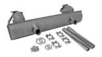 VW beetle exhaust kit, 1300cc - 1600cc 65 >, everything you need