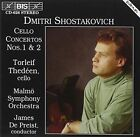 Shostakovich Cello Concertos Nos. 1 & 2 Torleif Thedeen Audio CD