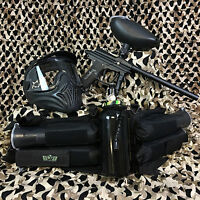 Azodin Blitz Evo Legendary Paintball Marker Gun Package Kit - Black